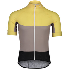 POC Essential Road Light Jersey Heren, sulfur yellow/sandstone beige